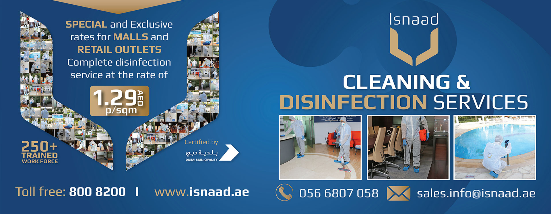 Cleaning & Disinfection Services