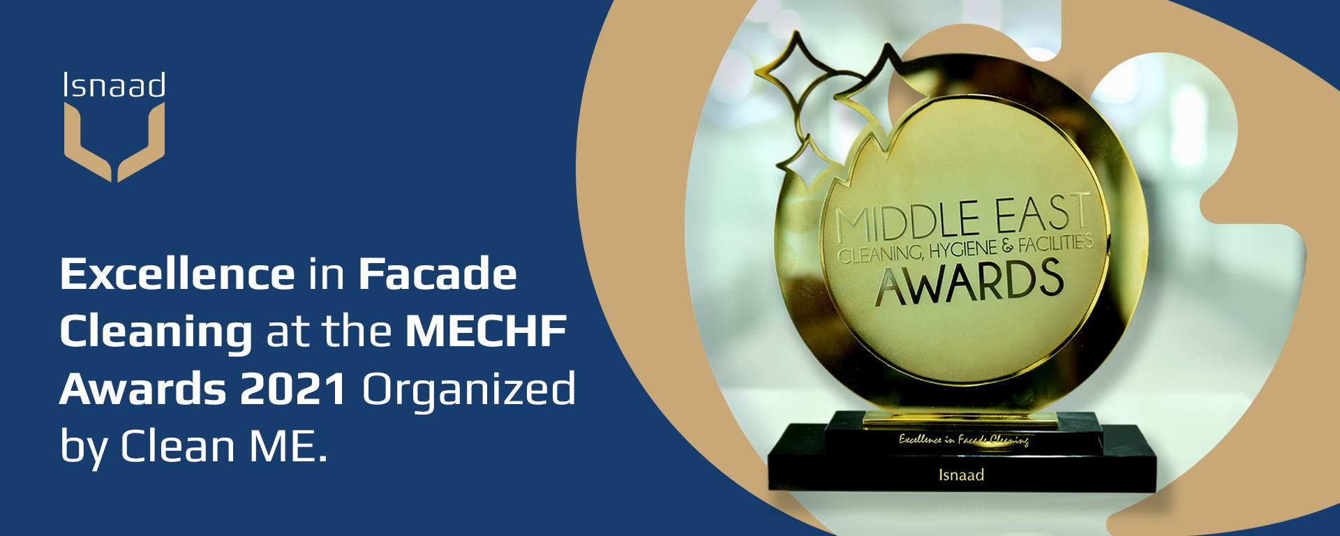 Excellence in Facade Cleaning at the MECHF Awards 2021 Organized by Clean ME.